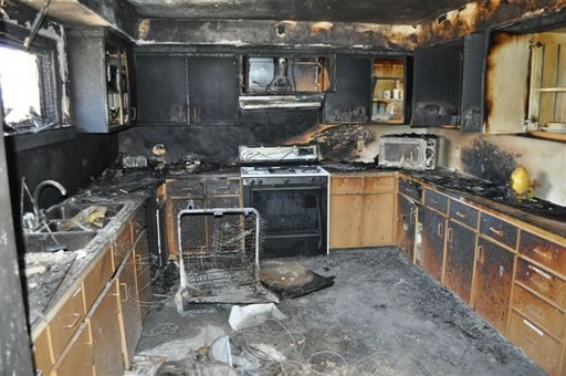 Fire Damage Restoration in East Irvine CA