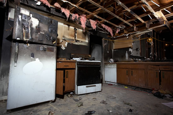 Fire Damage Restoration in La Palma CA