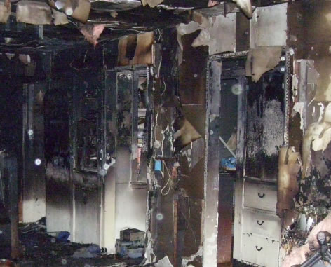 Fire Damage Restoration in Homeland CA