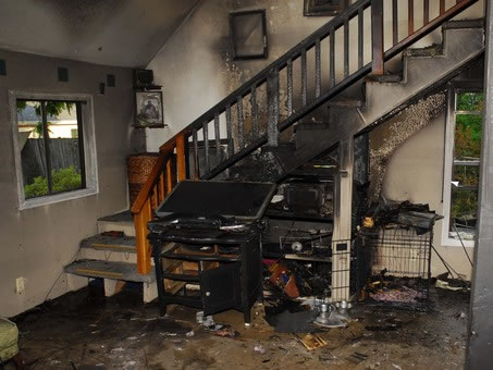 Fire Damage Restoration in Rowland Heights CA