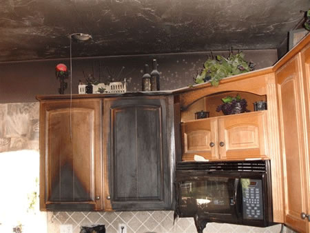 Fire Damage Restoration in Midway City CA