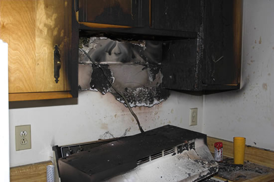 Fire Damage Restoration in La Crescenta CA