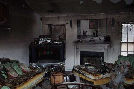 Fire Damage Restoration in Silverado CA