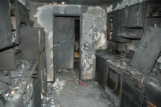 Fire Damage Restoration in West Hollywood CA