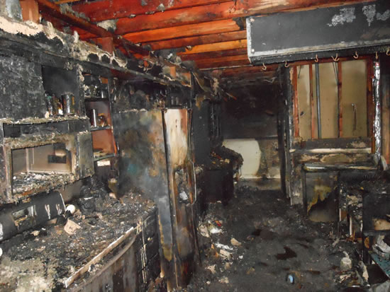 Fire Damage Restoration in Fullerton CA
