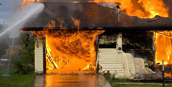 Fire Damage Restoration in Pomona CA