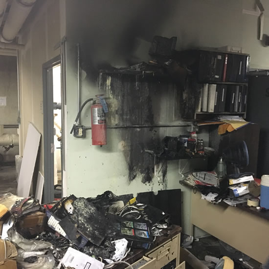 Fire Damage Restoration in Montrose CA