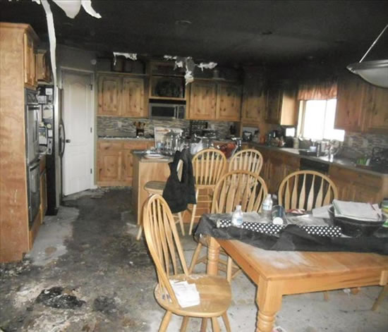 Fire Damage Restoration in Pearblossom CA