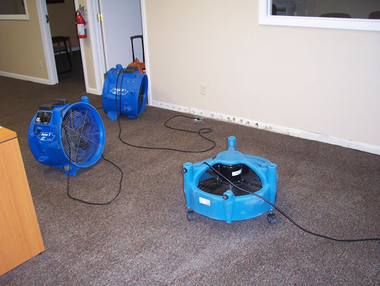 Water damage restoration in North Hollywood CA