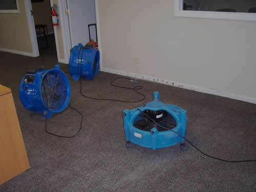 Water damage restoration in Sunset Beach CA