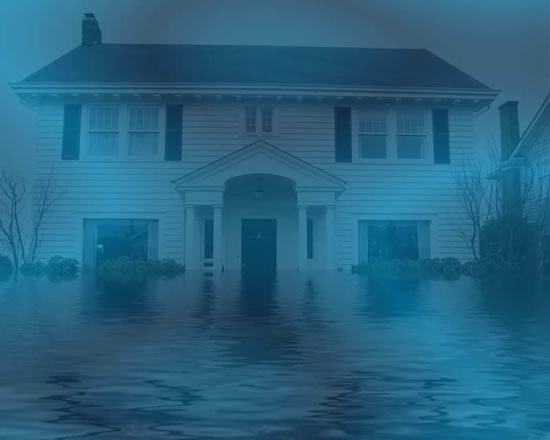 Water damage restoration in Rimforest CA