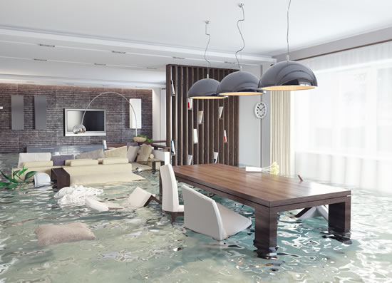 Water damage restoration in Glendora CA